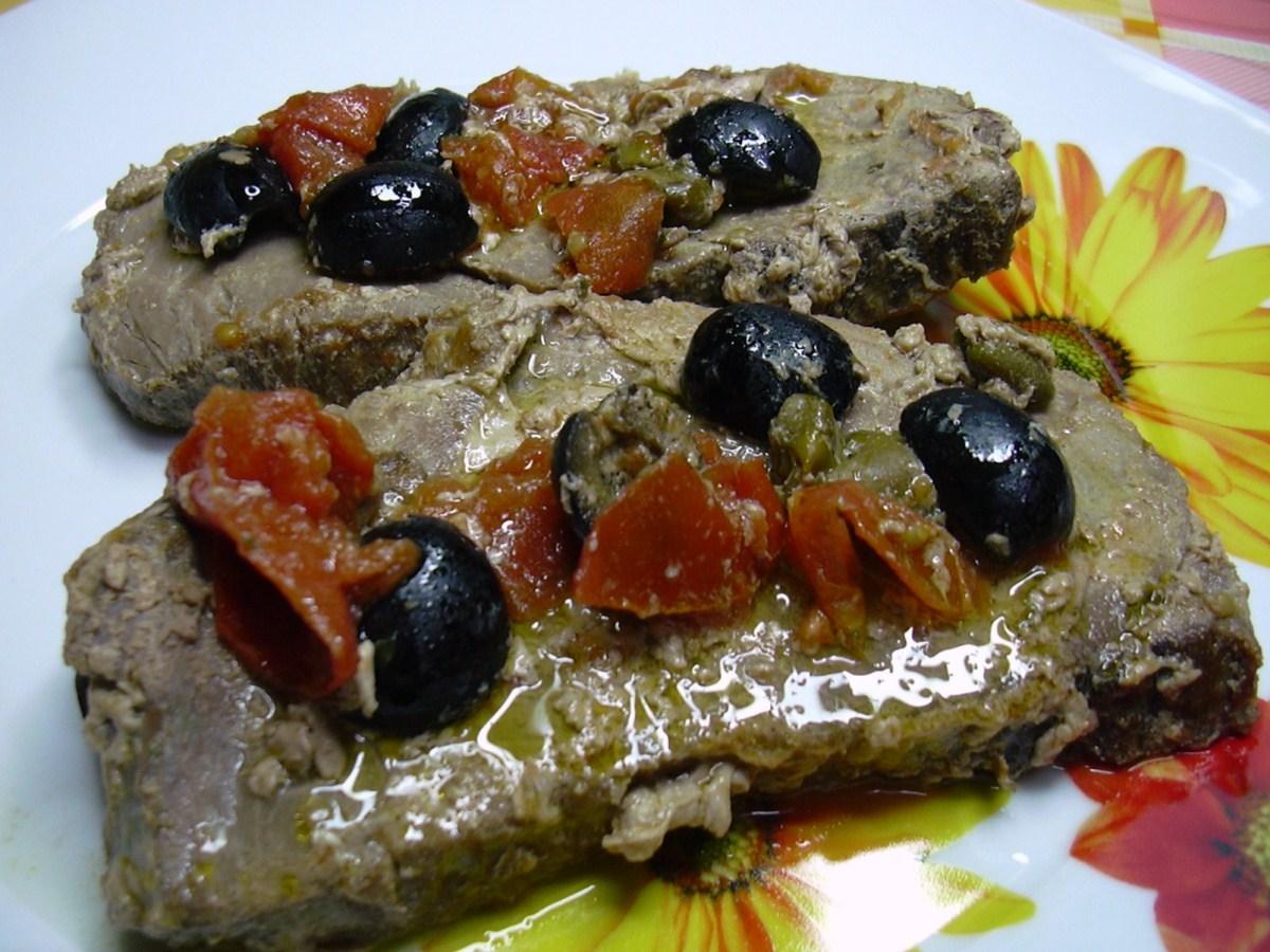 Bifore tonno e piselli preparazione della ricetta a base for Cucinare per 20 persone